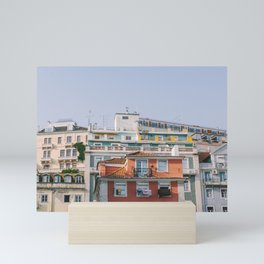 Lisbon City Rooftops, Portugal Mini Art Print