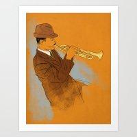 Joe Gordon Art Print