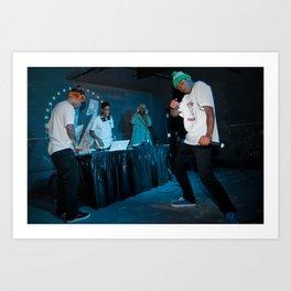 Odd Future, 2011. Art Print