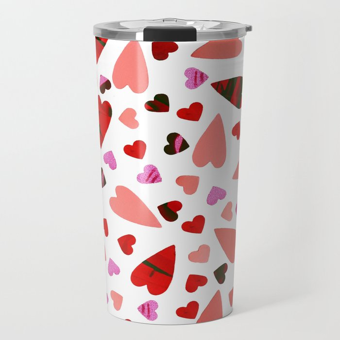 Scatter my (LOVE) Heart Travel Mug