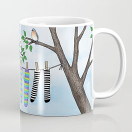 clean socks Coffee Mug