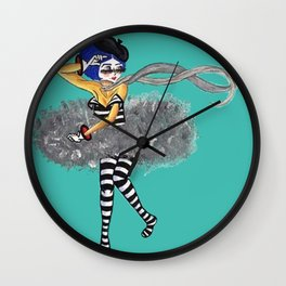 MIMIN' Wall Clock