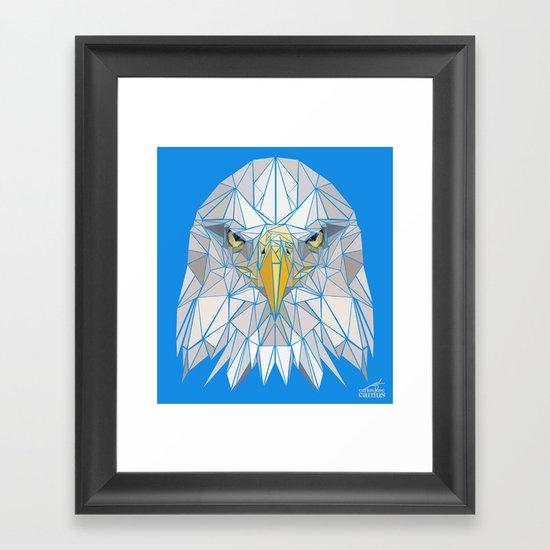 Blue Eagle Framed Art Print