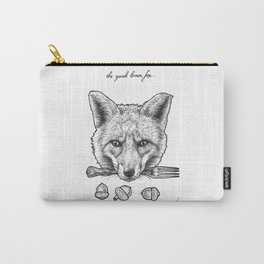 Quick Brown Fox Carry-All Pouch