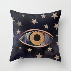 Open your third eye Throw Pillow