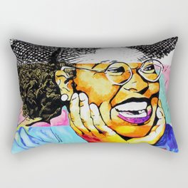 The Art of Joy Rectangular Pillow