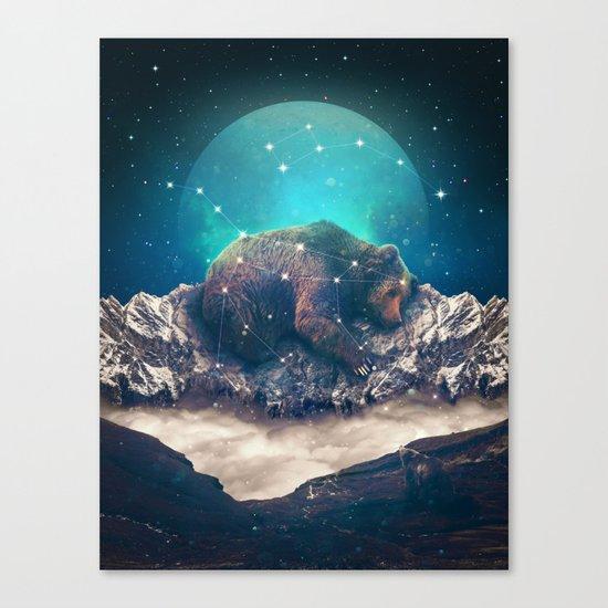 Under the Stars | Ursa Major Canvas Print