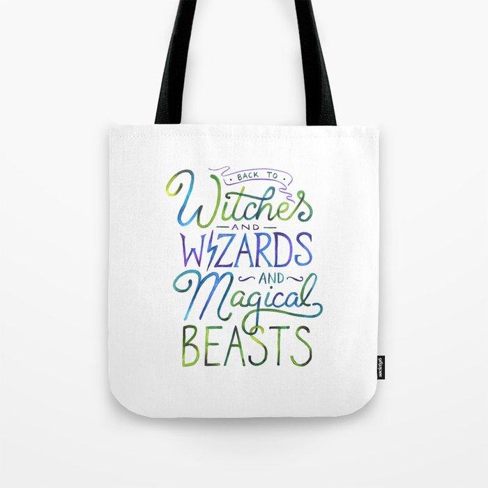 AVPM - Back To Hogwarts Tote Bag