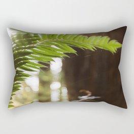 Under the Redwoods Rectangular Pillow