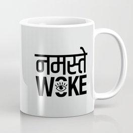 Namastay Woke Coffee Mug