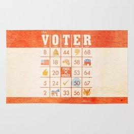 The Bingo Vote Rug