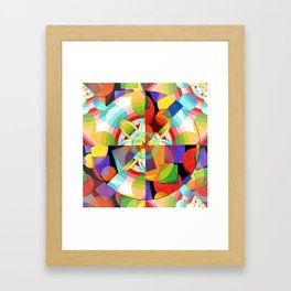 Prismatic Abstract Framed Art Print