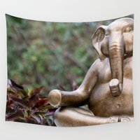 zen Wall Tapestries featuring Zen by Images by Danielle