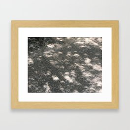 Little Eclipses Framed Art Print