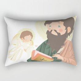 Saint Matthew The Apostle Rectangular Pillow