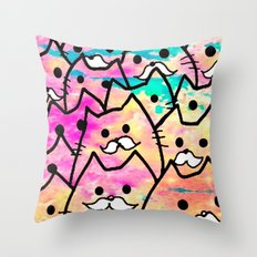 cat-35 Throw Pillow