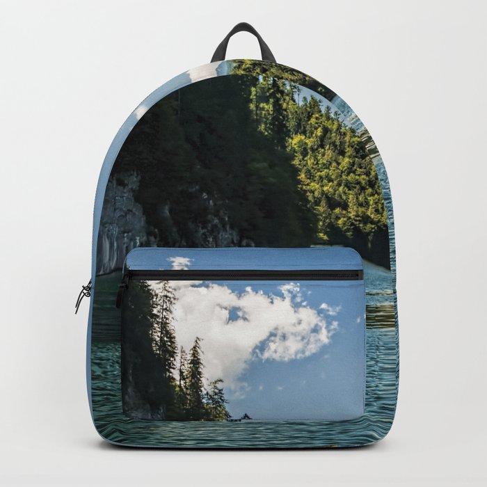 Koenigssee lake Bavaria Mountains Alps on #Society6 Backpack
