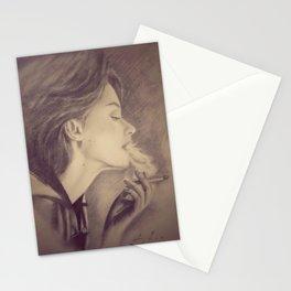 Smoke Trails (a Nicotine Daydream) - Earthy Stationery Cards