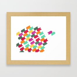 Just Us Two Framed Art Print