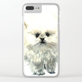Ball of Fluff Clear iPhone Case