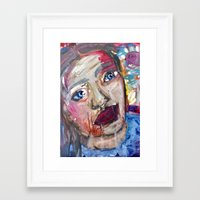 river Framed Art Prints featuring River by S.Queimado-Lima