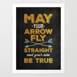 Archer Gift Idea Art Print