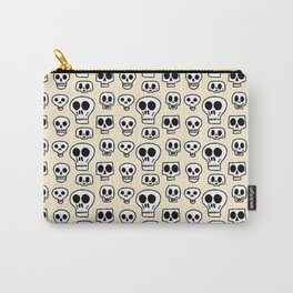 Skulls Pattern Drawing Carry-All Pouch