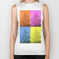 popart Biker Tanks featuring Autum popart by healinglove by Healinglove art products