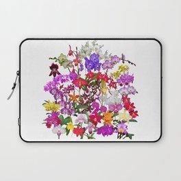A celebration of orchids Laptop Sleeve