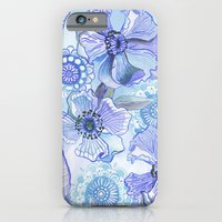 Lil' Garden Party in Blue Slim Case iPhone 6s