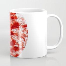 Flag of japan 3- Chalk version. Coffee Mug