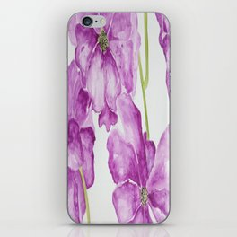 Flower lilac iPhone Skin