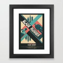 Ridley Scott's Blade Runner Film Poster Framed Art Print