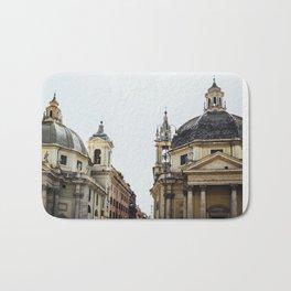 Piazza Del Popolo Rome Bath Mat