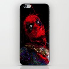 Hero with merc mouth iPhone & iPod Skin