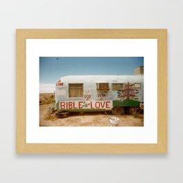 LOVE T R A I L E R Framed Art Print