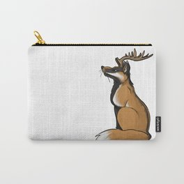 Antlered Fox Carry-All Pouch