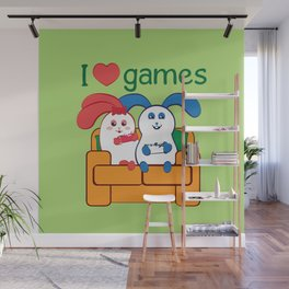Ernest | Loves games Wall Mural