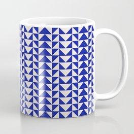 Blue Folk Art Coffee Mug