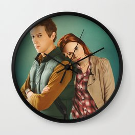 Doctor Who - Rory and Amy Wall Clock