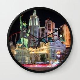 New York New York, Las Vegas Wall Clock