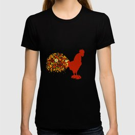 Chinese Lunar New Year Of The Rooster Zodiac Animal 2017 T-shirt