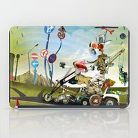 taxi driver iPad Cases featuring Driver by Ali GULEC