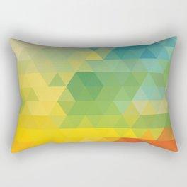 Meduzzle: Colorful Days Rectangular Pillow