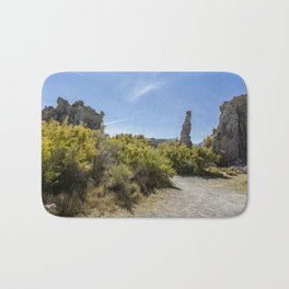 Mono Lake Tufa, No. 3 Bath Mat