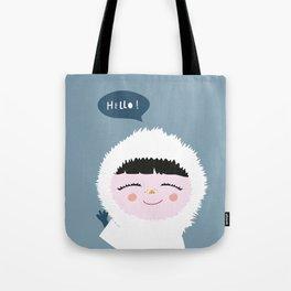 Cute little Eskimo Tote Bag