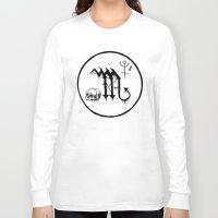 scorpio Long Sleeve T-shirts featuring Scorpio by Peczulis