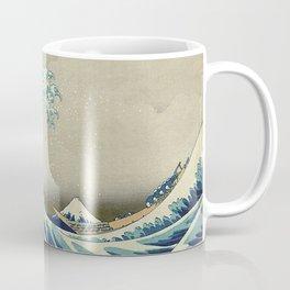 THE GREAT WAVE OFF KANAGAWA - KATSUSHIKA HOKUSAI Coffee Mug