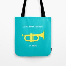 Get Me Away Tote Bag