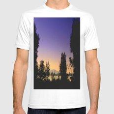 Lake Fyans - Australia Mens Fitted Tee White MEDIUM